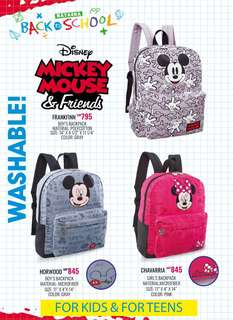 Mickey Mouse & Friends Backpack