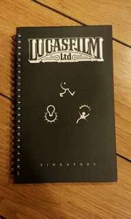 Lucasfilm Notepad Starwars Collectible