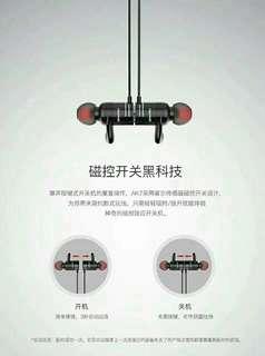 Bluetooth headset earphones