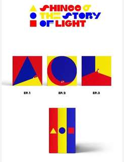 SHINee 6th album (The Story of Light EP.1 & EP.2)
