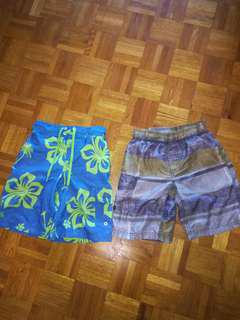 Boys size 8 swim shorts