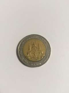 [TSHSE] Thailand 10 Baht (50th Anniversary - Reign of King Rama IX)