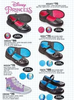 Disney Princess Girl's School Shoes