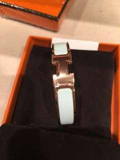 Hermes Clic H clac bracelet
