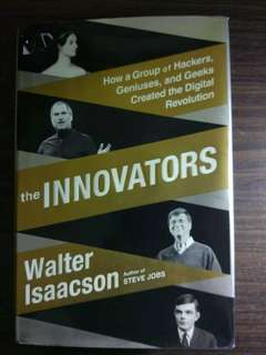 [New] The Innovators, by Walter Isaacson