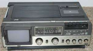JVC Kofferradio Portable Color TV CX-500 ME Color TV - Radio – Tape-recorder