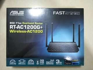 Asus Dual Band Router AC1200G+