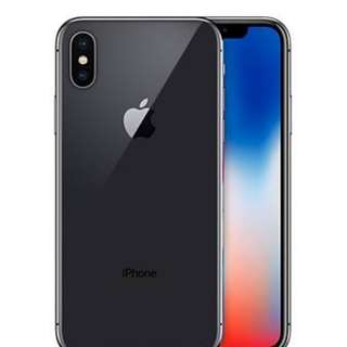 iPhone X 64GB and 256GB