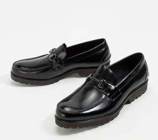 BRIXTON LOAFER made from premium Italian Leather 40-45 black