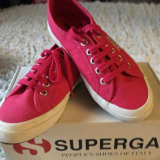 ORIGINAL Superga Pink Shoes