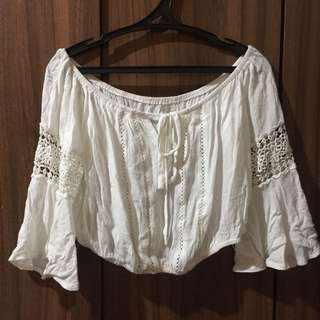 Boho off shoulder