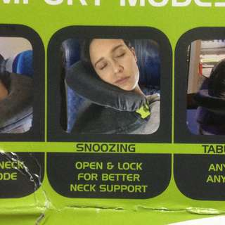 Versatile Travel Pillow: 5 modes of comfort and support