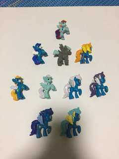 10 Pack Rainbow Dash and her team