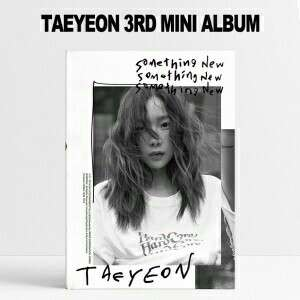 TAEYEON Mini Album Vol.3 - Something New