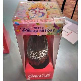 Japan Tokyo Disney Resort 35th Anniversary Coca-Cola Bottle