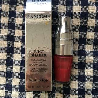 Lancome Juicy Shaker Lip Oil 252 Vanilla Pop