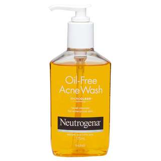 Neutrogena Oil Free Acne Wash 175ml