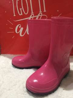 Pink Rainboots (FOR KIDS)