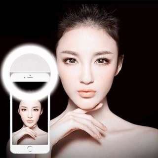 Selfie lampu ring