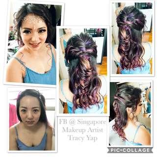 Makeup & hairdo services
