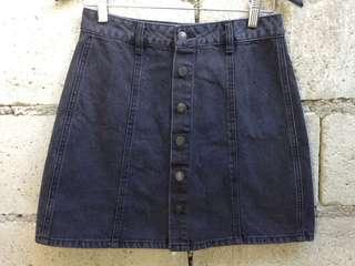 High Waist Denim Skirt/Maong Palda💕