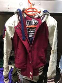 🚚 Superdry極度乾燥棒球外套