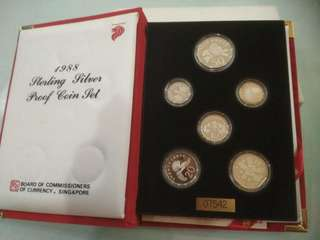 1988 STERLING SILVER PROOF COIN