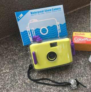 防水菲林相機(5款顏色)