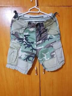 Izzue Camo Cargo Short
