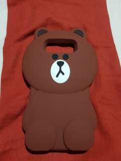 Samsung Note 8 Brown Bear Case