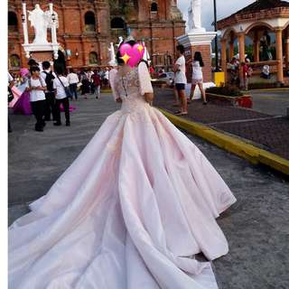 Gown for wedding/debut/sagala etc.