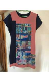 Plains and Prints Dress used once