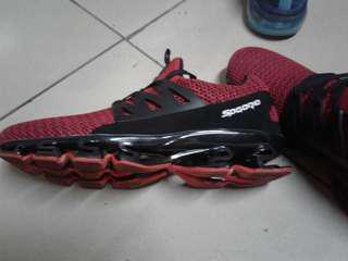 🚚 武士鞋 紅