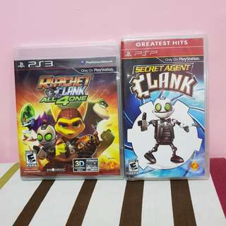 Clank Bundle (ps3 and psp)