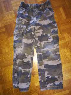 Boys size 8 cargo pants from the children's place