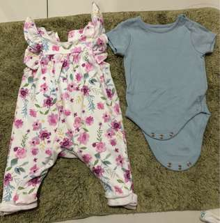 Mothercare Floral Romper