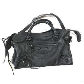 Preloved Balenciaga edge city bag