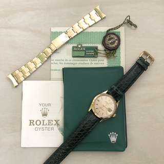 Rolex 1550 oyster date 1500