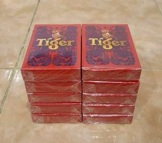 TIGER playing cards 10