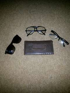 Take it All Sunglasess and Original Eiger Wallet