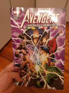 Marvel The Avengers and The Infinity Gauntlet