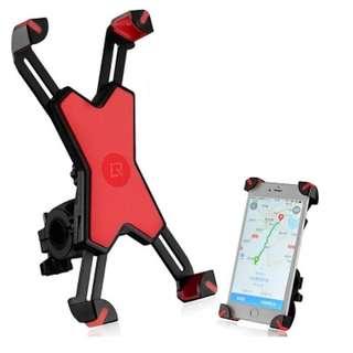 Rockbros Bicycle Phone Holder 666 (Red)