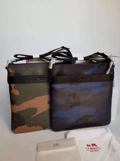 Authentic cross body bag for men