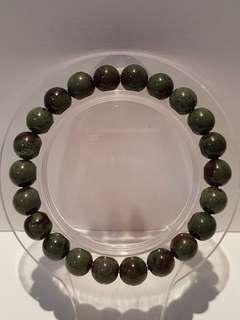满肉绿幽灵。 Green Phantom Bracelet (8.2mm)
