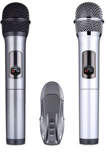 (201) Lumsing Microphone Wireless Professional Bluetooth Handheld Wireless Microphone System Karaoke Dynamic Mic With Bluetooth Receiver For Performance Karaoke Party Speech Meeting