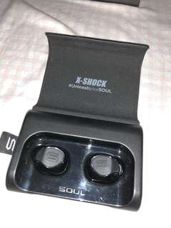 SOUL X-shock wireless earphones