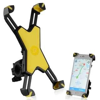 Rockbros Bicycle Phone Holder 666 (Yellow)