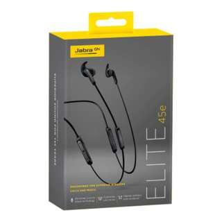Jabra Elite 45e Neckband Bluetooth Earphones