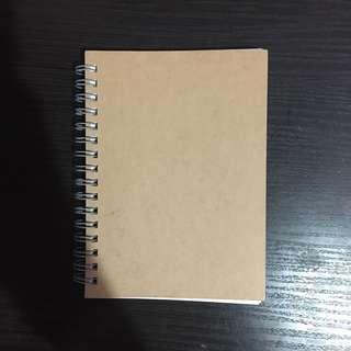 MUJI A6 Notebook