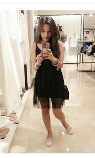 Topshop Tulle Dress